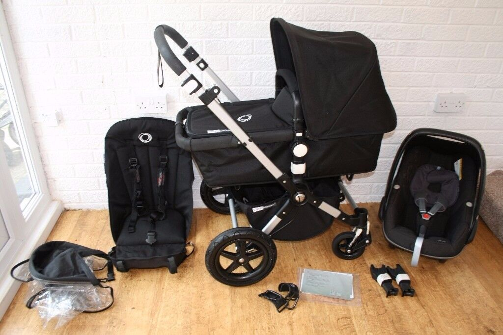 Bugaboo Cameleon 3 pram travel system with car seat 3 in 1 - black CAN POST