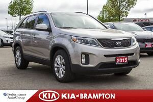 2015 Kia Sorento EX|BACKUP CAM|POWER SEAT|MEMORY SEAT|BLUETOOTH