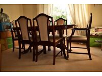 John Coyle Extending Dining Table and 6 Chairs