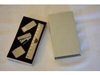 Mini stationery set in metal case - unused
