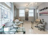 ROOM (space) to RENT in Hair Salon in Central London Fitzrovia/ Soho