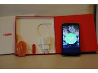 Oneplus One 64GB Android Phone - Cyanogenmod 13.1 ROOTED + Accessories Boxed Complete MINT