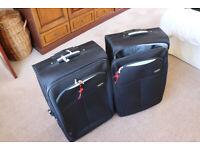 2 Antler travel cases