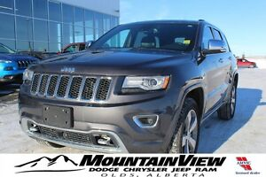 2015 Jeep Grand Cherokee Overland ONLY 14,200 KM! AIR RIDE!
