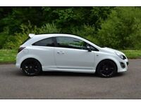 2014 reg corsa limited edition white only 15000 miles, mint condition - cat d