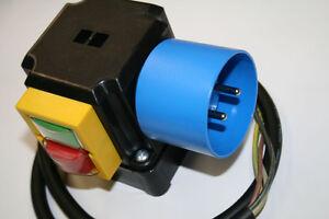 Elektromotor, Motorschalter SSK 500, 13A/3KW; Thermokontakt Anschluss, Kreissäge