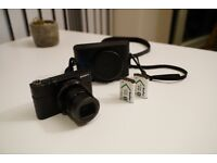 Sony RX100 IV M4 with leather case, extra batteries and full accessories - Perfect condition