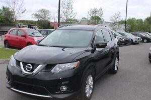 2015 Nissan Rogue SL AWD+NAVI+360 CAMERA+TOIT PANO+7 PASSAGERS+U