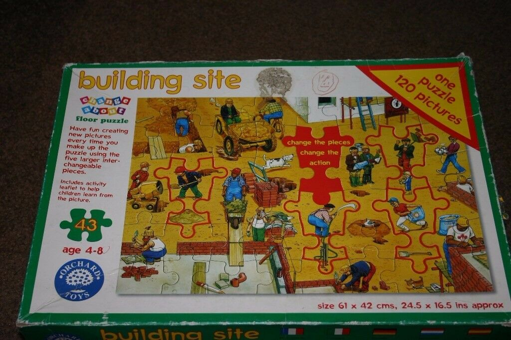Building Site Floor Puzzle