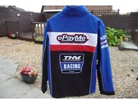 MENS ePayMe YAMAHA BSB SOFTSHELL JACKET. ONLY WORN ONCE. STUNNING JACKET. WATERPROOF AND WINDPROOF.