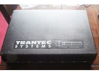 Trantec vhf radio mic receiver and transmitte