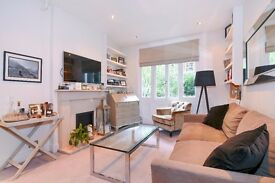 Nevern Square SW5. Raised ground floor one double bedroom apartment to rent long let.