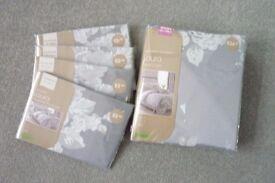 Dunelm - Laura - Double Duvet Cover & 4 Pillowcases - Brand New
