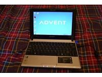 Advent Milano Laptop - Windows 7 - Office 2013 - New Charger - Wireless - Ready to go