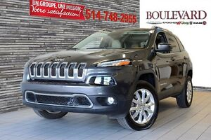 2015 Jeep Cherokee Limited /**ACTIVE DRIVE 2** CUIR+TOIT+CAMÉRA+