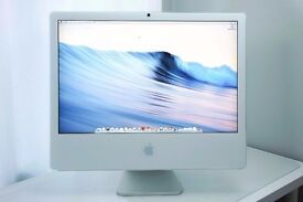 "Apple imac 24"" 4gb ram"