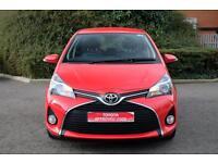 Toyota Yaris VVT-I ICON (red) 2015-03-16