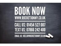 Rocket Jonny's Minibus / Bus Hire Bristol, Cardiff & UK wide (9-16 seaters)