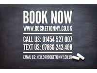 Rocket Jonny's Minibus / Bus Hire Bristol, Cardiff & UK wide (9-16 seaters)