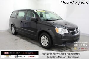 2012 Dodge GRAND CARAVAN *7 PASSAGERS AIR CLIM RÉGUL DE VITESSE*