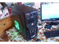 Gaming PC, AM4 Quad Core A10-9700 3.5GHz, 8GB DDR4 2133MHz RAM, 1TB HDD, Windows 10, Radeon R7