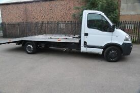 Vauxhall Movano 3.5t Recovery Truck / Car Transporter - Alloy Body and Winch - 2007 Movano 2.5dci