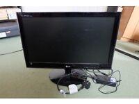 LG E2240s 22'' monitor, 16:9 HD black