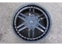 Alloy wheel repair fix weld straighten colour change crack buckle air leak paint strip blast diamond