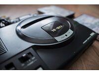Sega Megadrive With 2 games