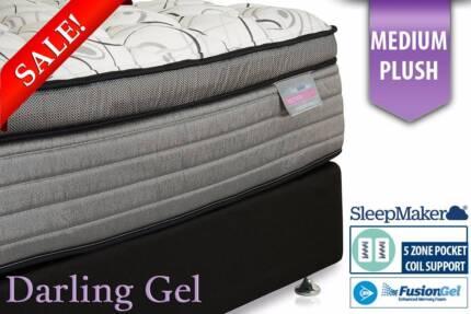 Huge SleepMaker/BedCo Gel Mattress Sale - Save Up To 60%!!
