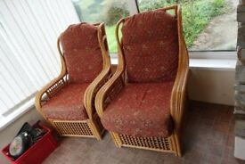 2 x Conservatory Chairs
