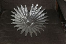 Vintage Dartington Glass dish