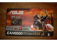 ASUS EAH6850 OC DCU ATi Radeon HD 6850 1GB GDDR5 Gpahics card GPU HDMI Gaming