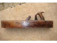 Antique Wooden Jack Plane