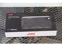 JVC SP-AD90-BB Portable Wireless Speaker Bluetooth NFC Microphone Aux In Black