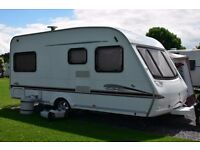 Swift Accord 2006 4 Berth, fixed bed with motor mover and full awning etc.