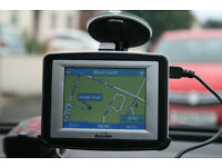 Binatone Satellite Navigation X350 Including UK & Ireland Maps