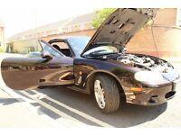 2004 Mazda MX5 Mk2.5 S-VT 1.8 Sport LSD Maroon 12 Months MOT