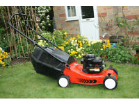 Sovereign Petrol Lawnmower -Excellent Condition