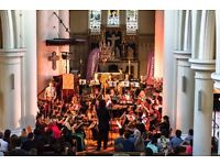 Non professional musicians and singers wanted for orchestra project