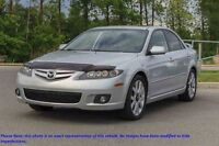 2008 MAZDA 6 GT GT, V6, TOIT, CUIR, MAGS, AUTO, A/C