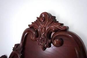 Antique Australian Cedar Bedhead Kenmore Brisbane North West Preview