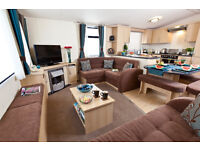 Luxury 3 bed Caravan for rent, Hire, Seton Sands, Edinburgh, Scotland LATE DEAL £139