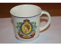 CUP CELEBRATING THE CORONATION OF HER MAJESTY QUEEN ELIZABETH II