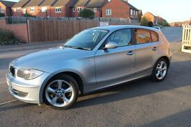 Imaculate BMW 118d SE low milage £30 road tax 65 Mpg 12 months mot lots of Factory fitted extras