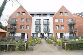 A two bed duplex apartment with modern kitchen and bathroom with balcony and private patio