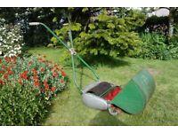 Ransomes Ajax push lawn mower