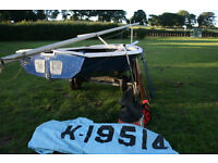 ENTERPRISE DINGHY with combi boat / utility TRAILER & lots of kit!