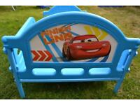 Childrens Toddler Cot Bed Junior Cars