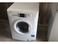 Beko Washing Machine White 7kg load 1400rpm Efficient Family Size
